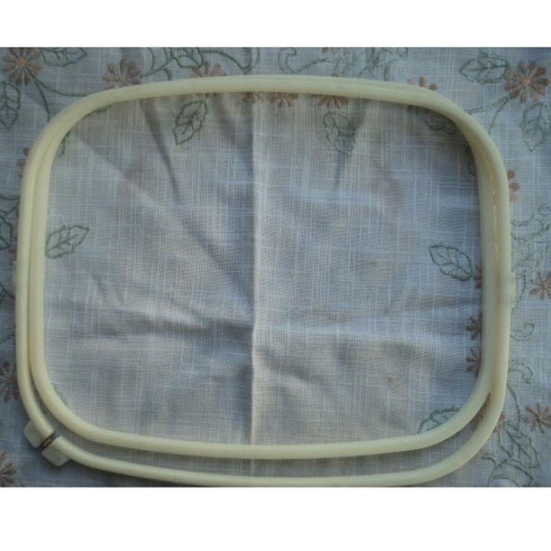 Wholesale cm rectangle embroidery hoop big plastic