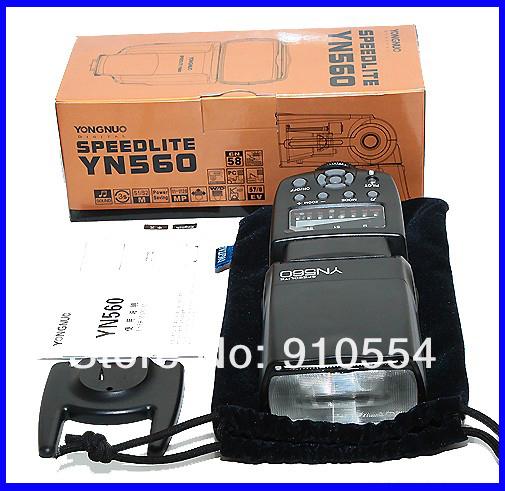 Flashes Yongnuo Upgraded Flash Speedlite YN-560 II for Nikon D7000 D5100 D5000 D3100<br><br>Aliexpress