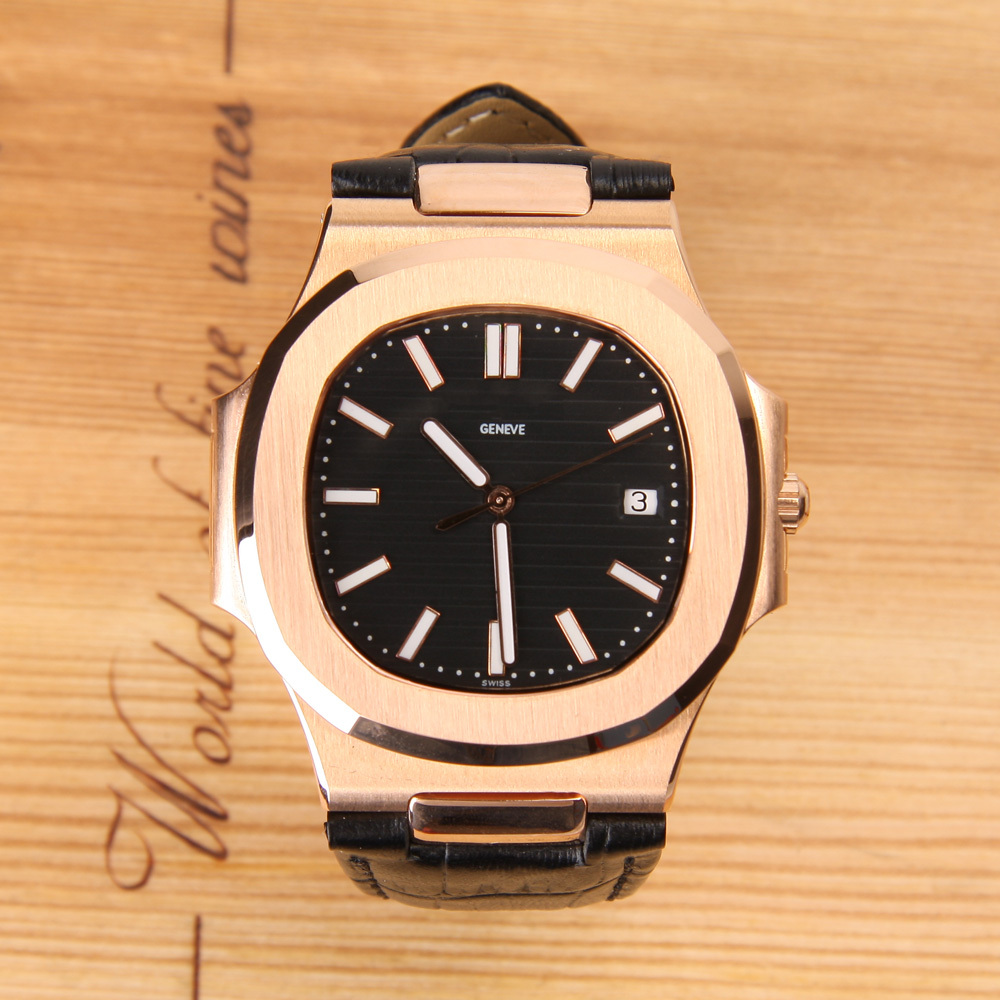 high quality golden classic mens watches top