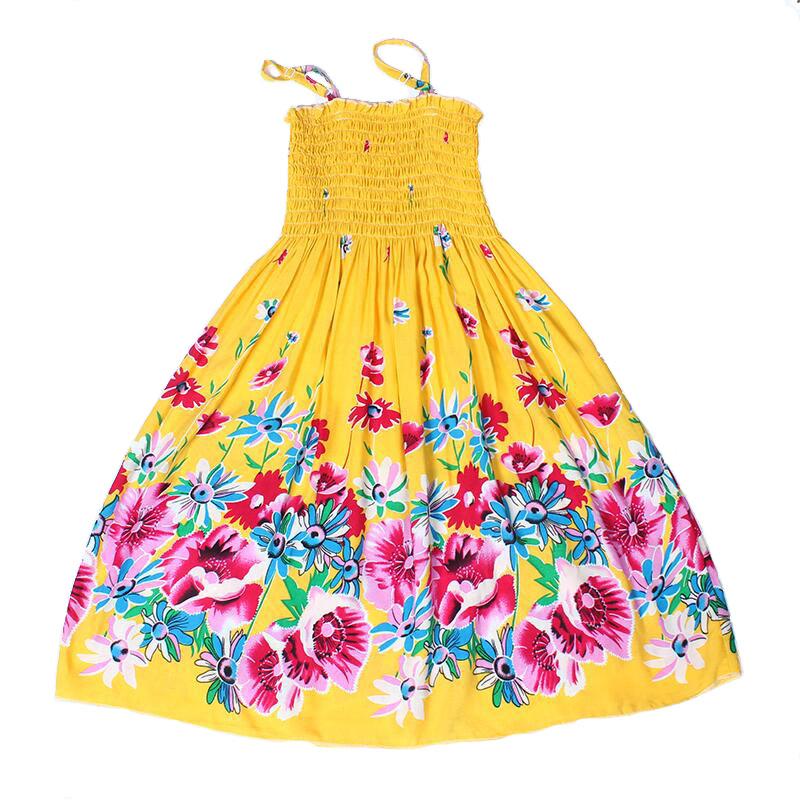 2016 flower summer dresses for girls beach Bohemian Dress cotton infant princess boho dress for kids vestidos de fiesta infantis(China (Mainland))