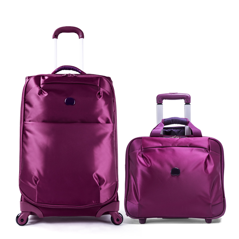 Delsey travel bag 24 18 luggage trolley bag set combination ...