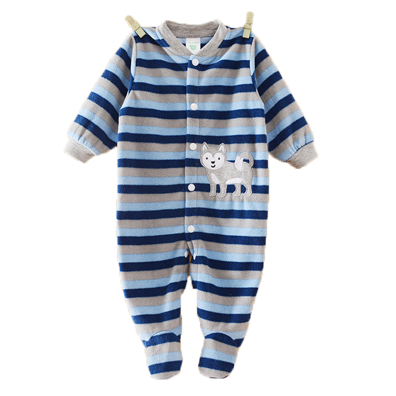 Brand Baby Rompers Newborn Winter Body Bebe Baby Boy Panda Cartoon Clothing Baby Girl Overall for Infants Recem Nascido Clothes(China (Mainland))