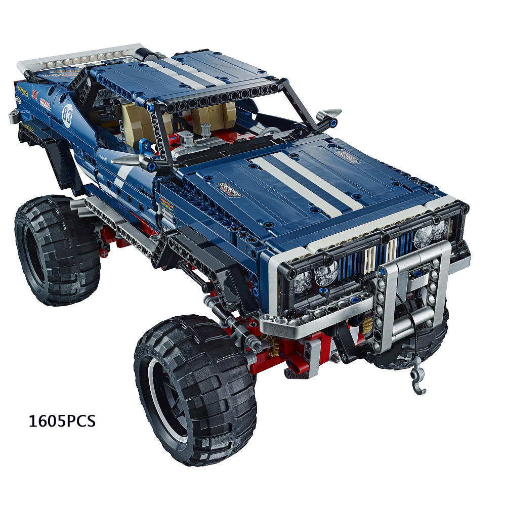 Lepin Technics 4X4 Crawler Exclusive Edition Jeep building block RC cars Sport Utility Vehicle model compatible legoe 41999 toys(China (Mainland))