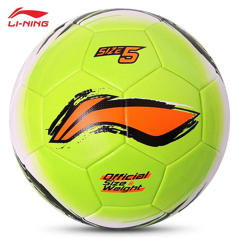 Original li-ning High Quality Standard Soccer Ball Training Balls soccer Official Size 5 PVC Soccer Ball free shipping(China (Mainland))
