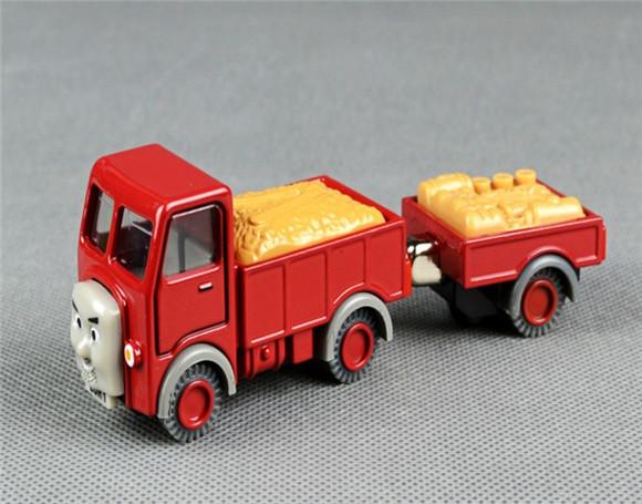 Free Shipping---2pcs Lorry &trailer metal toys, Thomas and Friends metal train Models(Hong Kong)