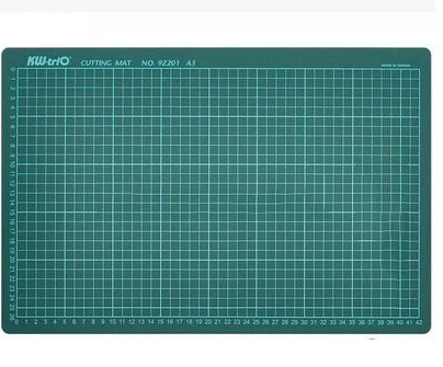Taiwan can get excellent model making double-sided A3 cutting mat for cutting plate engraving plate modeling aids Free shipping(China (Mainland))