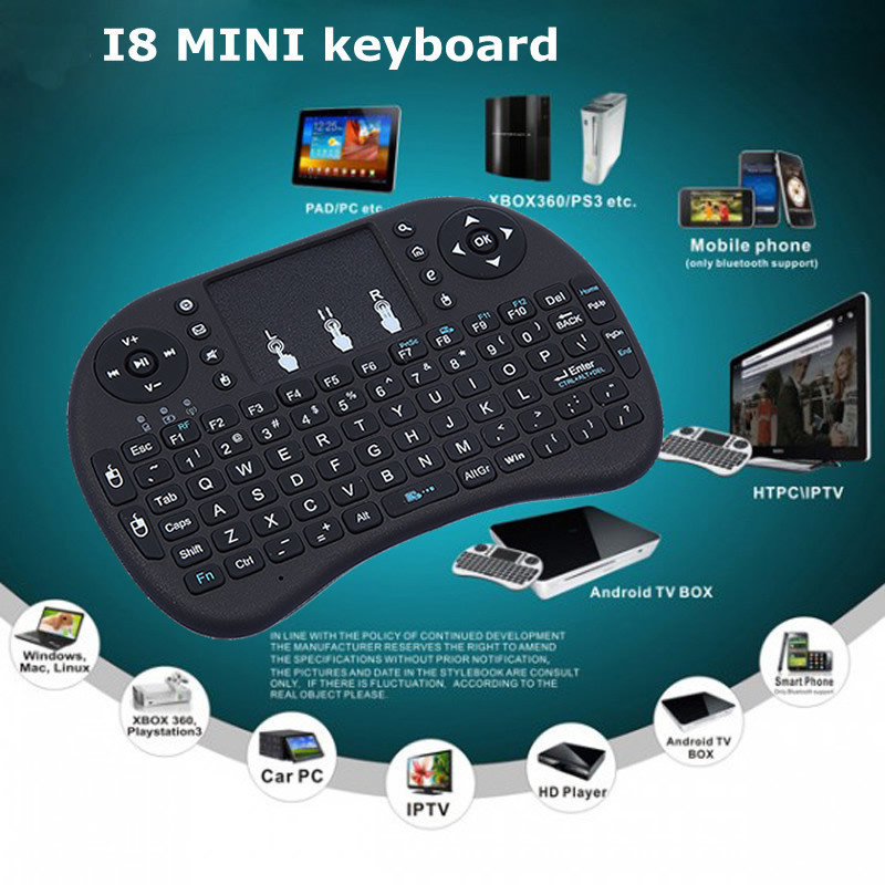 2015 Wireless keyboard with Touchpad 2.4G Fly Air Mouse Combo Teclado for HDPC Win7 Pad for Xbox360 for PS3 for Andriod TV Box(China (Mainland))