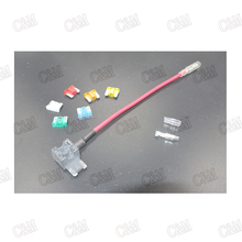 1pcs/lot 12/24V ATM APM Add A Circuit Fuse Tap Piggy Back micro Blade Fuse Holder size(China (Mainland))