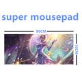 FFFAS 800mm 300mm 2mm Super Huge Grande large Mousepads gamer gaming Mouse pads Keyboard mat for