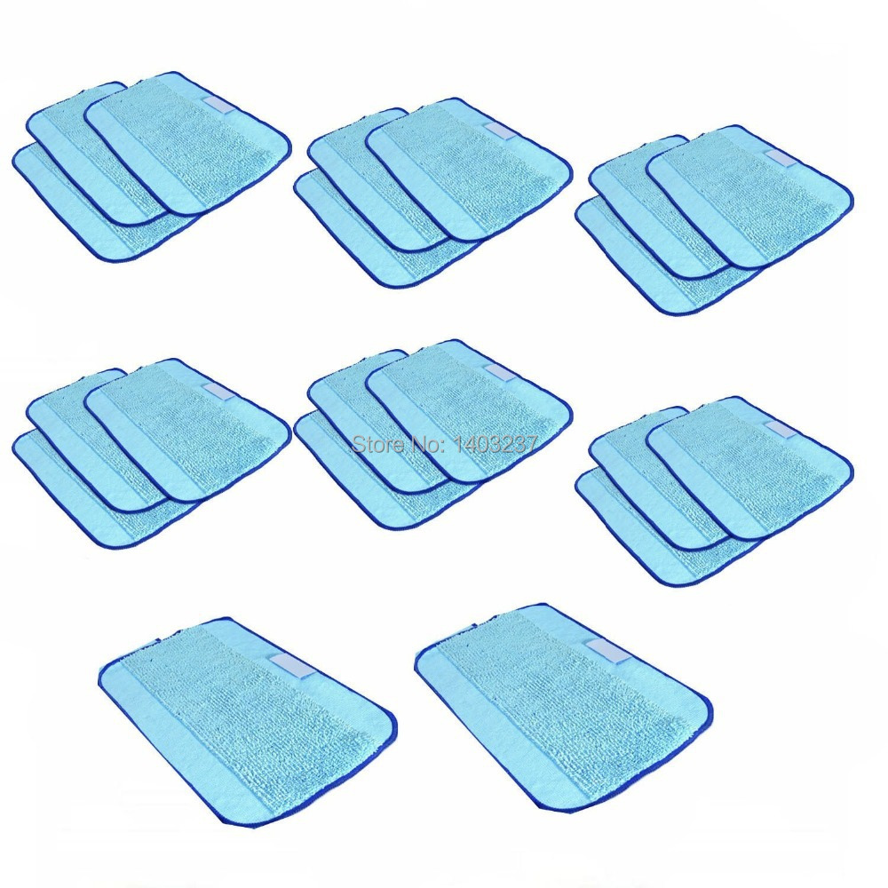 20-Pack Microfiber Cleaning ,Pro-Clean Mopping Cloths for Braava Floor Mopping Robot 380 380T 320 Mint 4200 4205 5200 5200C(China (Mainland))