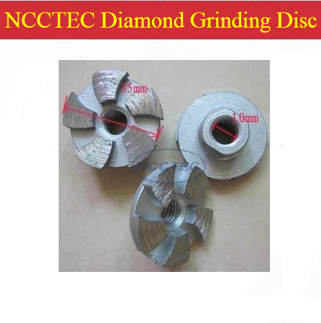 1 4 diamond grinding CUP wheel FREE shipping 35mm small Concrete DRY grinding disc for angle