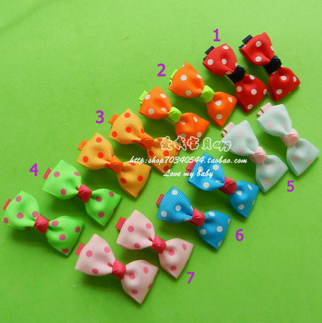 Free shipping child accessories hair accessory a hair rope hairpin bow side-knotted clip baby hair clip