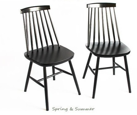 Wood dining chair dining chair ikea nordic ash korean for Ikea wooden dining chairs