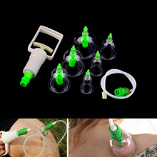 1 Set 6 Can Massager Health Monitors Products Can Opener Pull Vacuum Cupping of The Tanks Cutem Extractor Acupuncture 2015(China (Mainland))