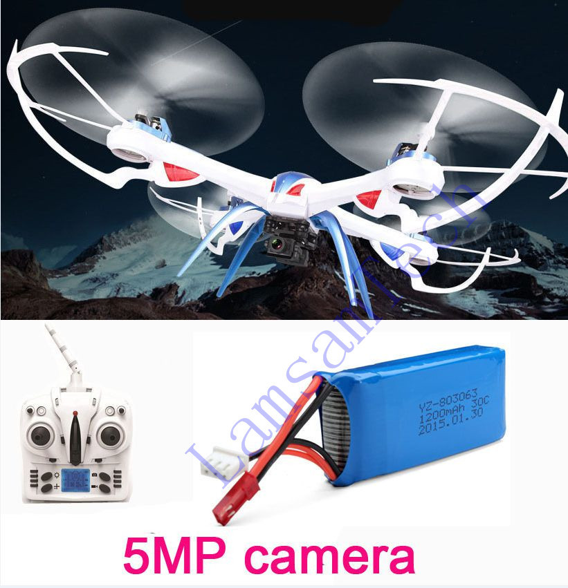 5MP/2MP camera JJRC H16 Tarantula X6 2.4G 6-Axis rc quadcopter professional drones With Camera 2.4G 4CH RC helicopter(China (Mainland))