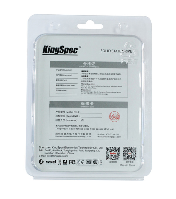 ถูก 22x42มิลลิเมตรแบรนด์ใหม่kingspec 64กิกะไบต์128กิกะไบต์โซลิดสเตฮาร์ดดิสก์NGFF M.2 ssdอินเตอร์เฟซJMF608 MLCสำหรับPCleแล็ปท็อปultrabookอัพเกรด