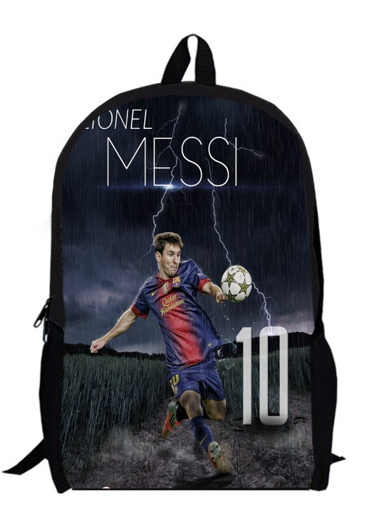 12inch Football Star Backpack For Boys Kids Soccer primary School Bags Girls Sport Champions League men women custom made 3(China (Mainland))