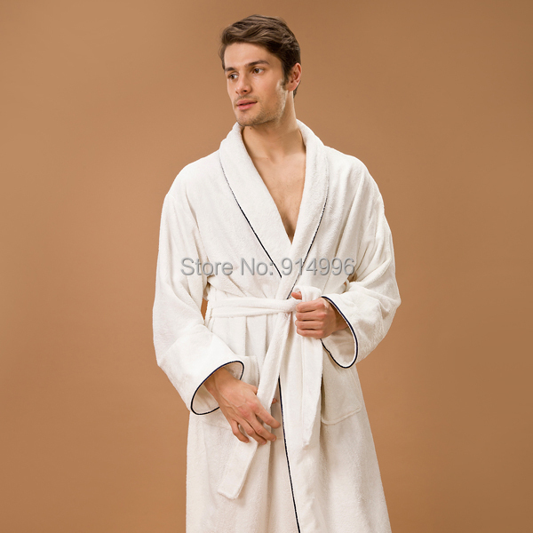 Bamboo Terry Dressing Gown