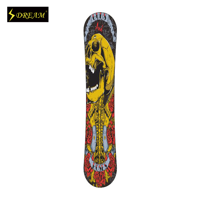 Customized Fashion Snowboards For Adult Male And Female Freestyle Carbon Fiber P-Tex Base Wooden Skiing Boards Fit All Mountain<br><br>Aliexpress