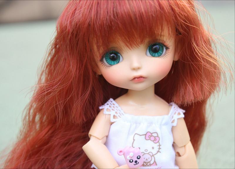 bjd 1/8 doll lati yellow sunny benny lea momo(2 additional hand parts) free eyes free shipping Lovely baby dolls(China (Mainland))