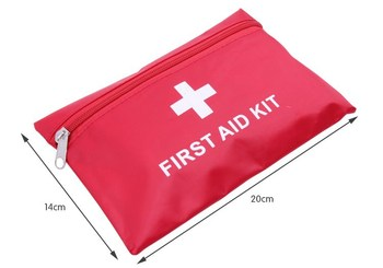 35pcs contents  Free shipping high quality 10sets/lot waterproof car first aid kit/outdoor first aid kit/sport medical bag