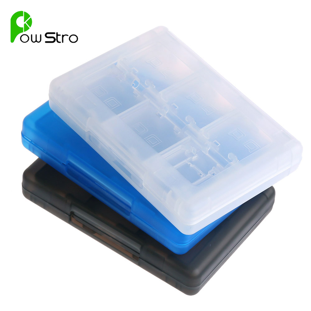 28 in 1 Protective Game Card Holder Cartridge Waterproof Anti Dust Memory Card Case Box For Nintendo DS DS Lite 3DS 3DS XL LL(China (Mainland))