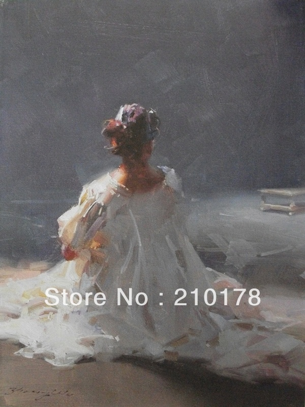 Wholesale oil painting nudes oil paintings hand-painted DF-115 timeless(China (Mainland))