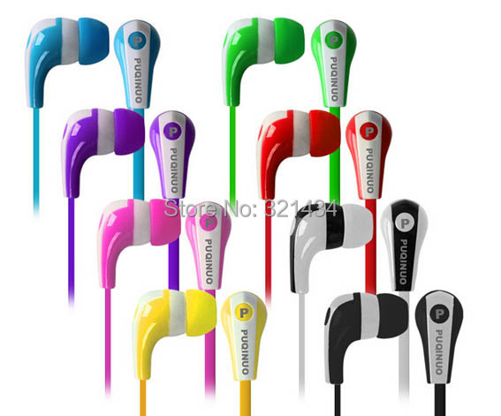 7 Color 3.5mm In-ear Stereo headset headphone earphone for mobile phone iphone 4 4S 5 5S Plus Samsung MP3 MP4 Media Player 579(China (Mainland))