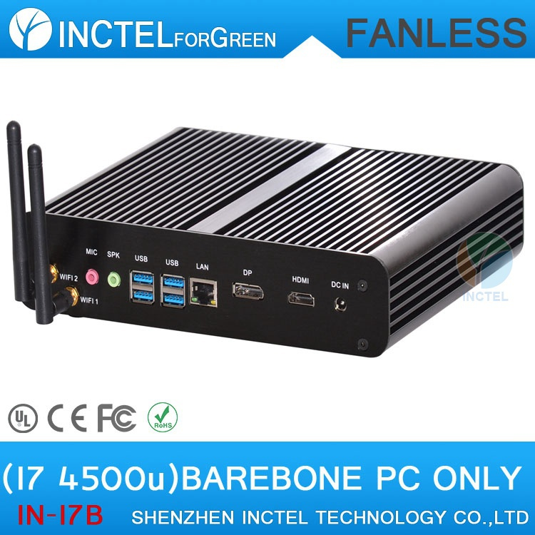 The High Review Desktop Computer Mini Itx Small HTPC with Haswell Intel Core i7 4500U 1.8Ghz USB3.0 HDMI DP Mini PC(China (Mainland))