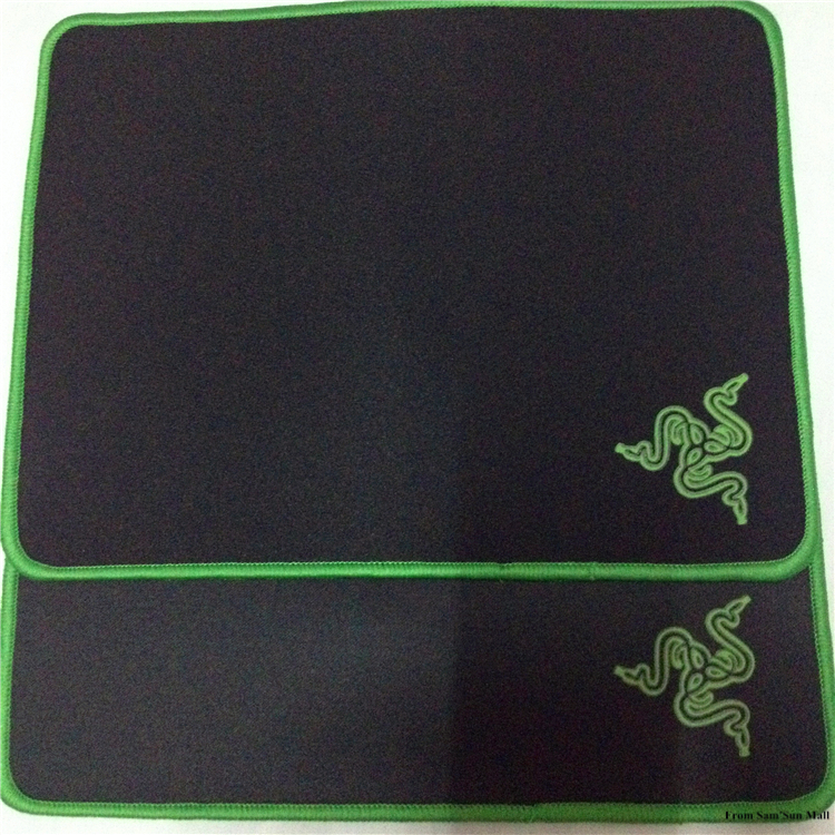 New Hot Sale thick 3mm Thicker Razer Goliathus Gaming Mouse Pad 260*200*3mm Well Bounded Mousepad Mat Control Version for Games(China (Mainland))