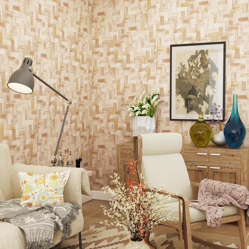 Achetez en gros motif de bambou papier peint en ligne for Revetement mural bambou