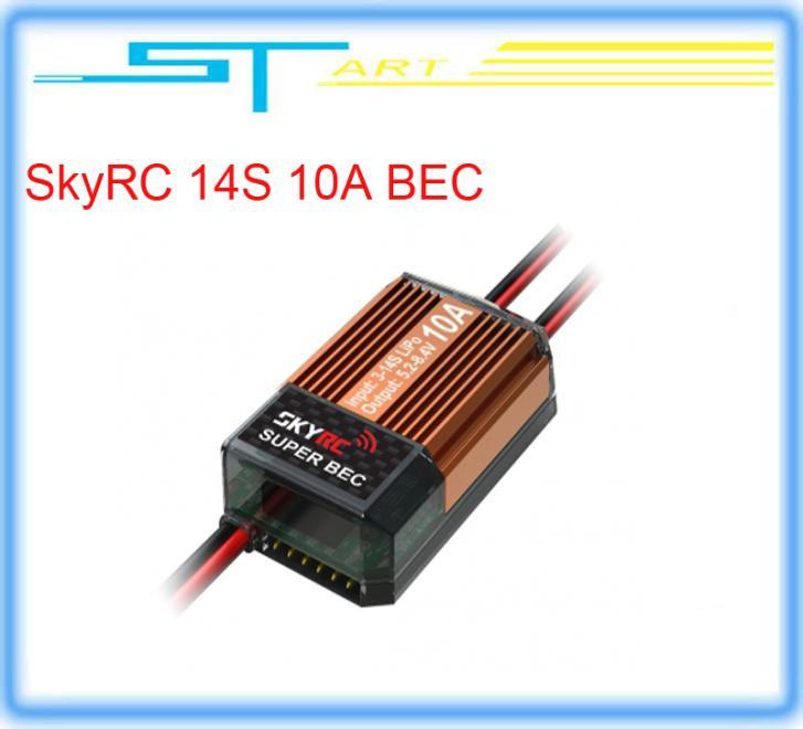 2014 hot selling SkyRC 14S 10A BEC 5.2V 6.0V 6.8V 7.4V 8.4V selectable voltage regulator free shipping for rc helicop girl gift<br><br>Aliexpress