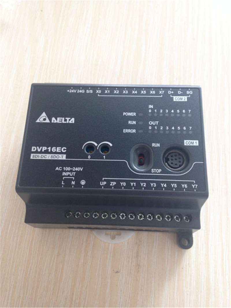 DVP16EC00T3 Delta PLC EC3 series 100-240VAC 8DI 8DO Transistor output new original<br><br>Aliexpress