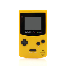 GB Boy Color Colour Handheld Game Consoles Game Player with Backlit 66 built-in games Yellow(China (Mainland))