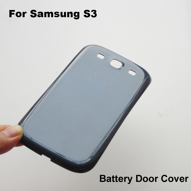 Original OEM Cover Replacement For Samsung Galaxy S3 S 3 III Back Cover Housing Case Battery Door i9300 T999 L710 i747 i535 Blue(China (Mainland))