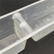 5PCS White Plastic 492 * 64 * 55mm Bees Beekeeping Supplies Feeding Trough To ensure Quality(China (Mainland))