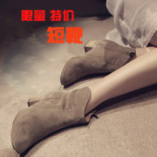 Fashion vintage 2016 fashion soft leather thick heel women boots super soft boots shoes,women sexy boots(China (Mainland))