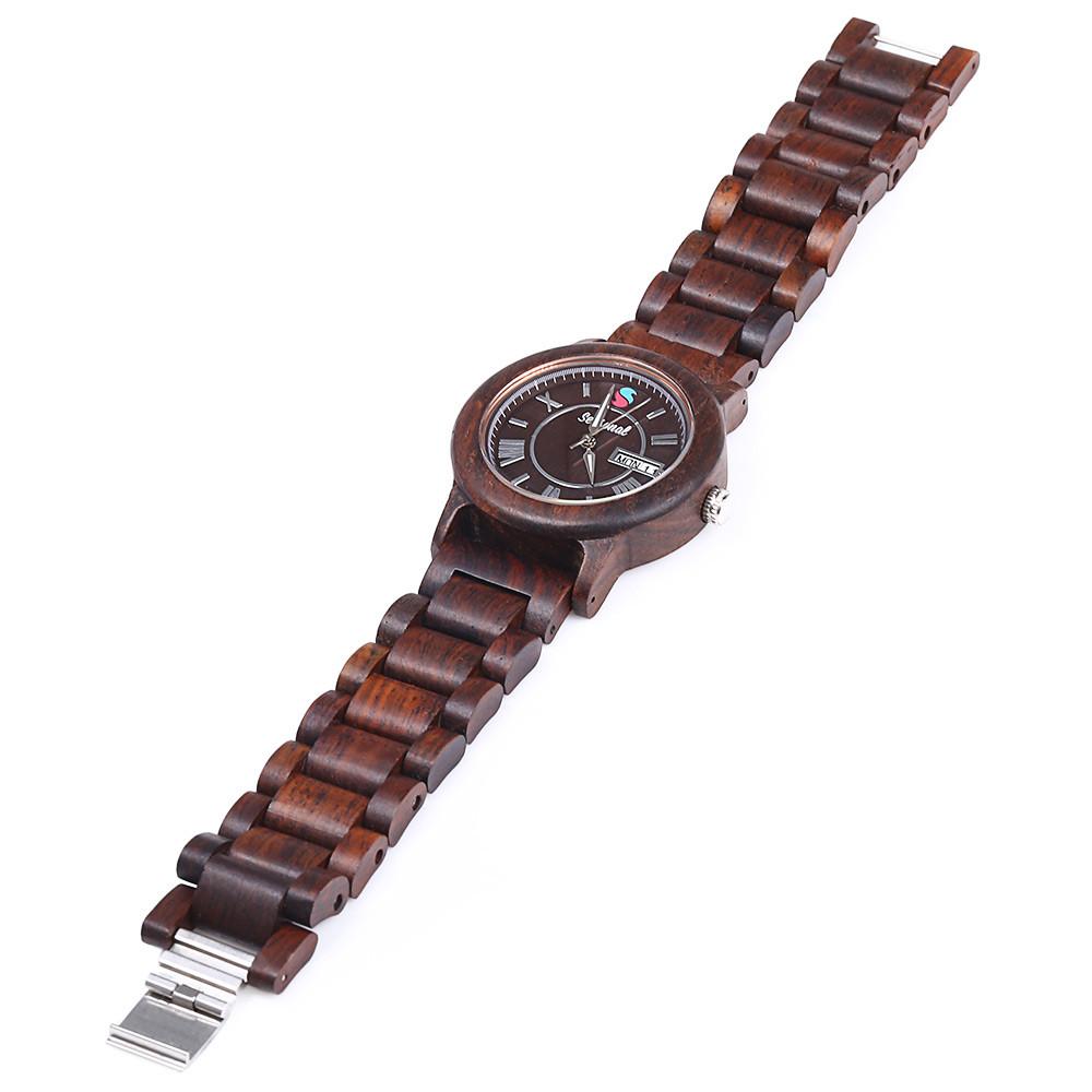 2016 новинка сезонные дата день показать мужской кварцевые часы клен группы мужчины наручные часы для рождественских подарков