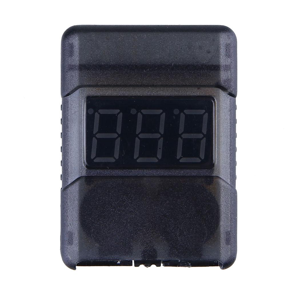 3.7-30V 1-8S LiPo Li-po/ion/Fe Battery Voltage Tester Low Voltage Buzzer Alarm<br><br>Aliexpress