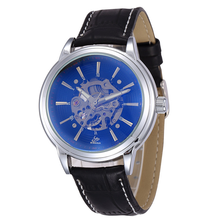 Здесь можно купить  Delicate Businessmen Analog Automatic Self-wind Dress Watches Fashion Real Leather Tourbillon Mechanical Wristwatch Reloj NW610 Delicate Businessmen Analog Automatic Self-wind Dress Watches Fashion Real Leather Tourbillon Mechanical Wristwatch Reloj NW610 Часы