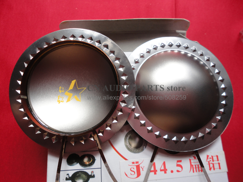 44.5 mm flat aluminum line tweeter voice coil:outlet line in the same direction(China (Mainland))
