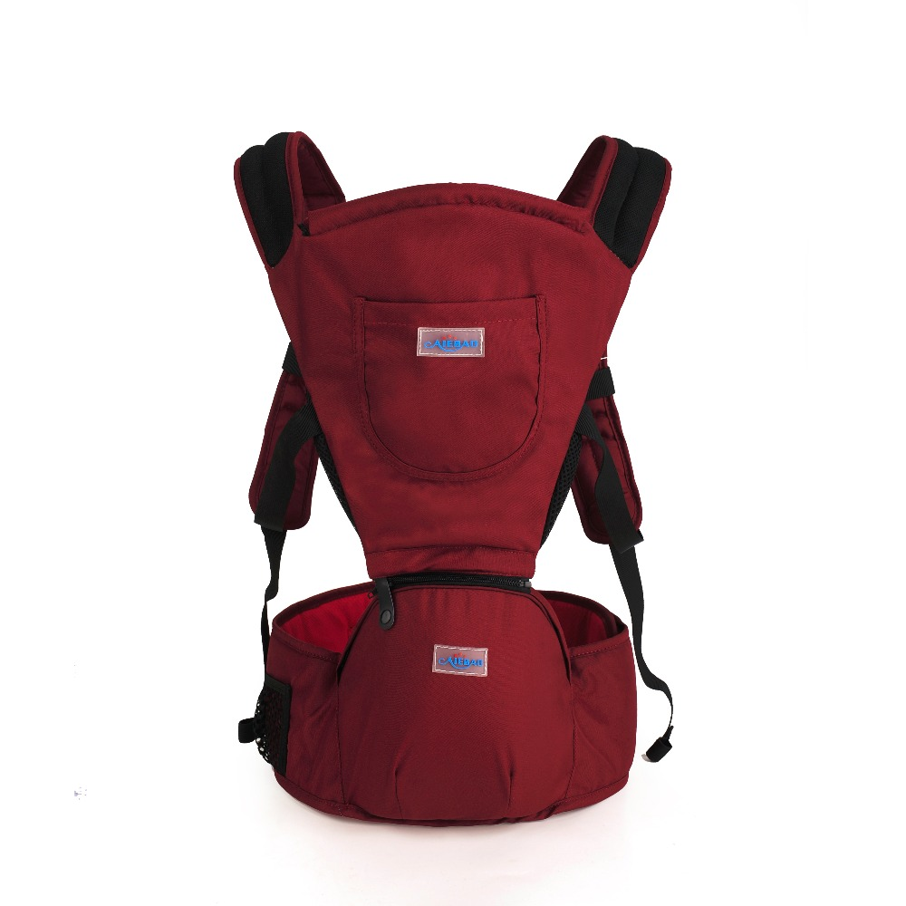 2016 3-30 Months Red Breathable Multifunctional Front Facing Baby Carrier Infant Comfortable Sling Backpack Pouch Wrap Baby(China (Mainland))