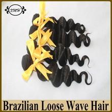 Wholesale Brazilian Virgin Human Hair Weave 6A Grade Wet And Wavy Hair Loose Wave Unprocessed Virgin Human Hair 100g Bundles