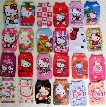Wholesale hello kitty MP3/MP4/ mobile case Protection cell phone bag/case soft Socks