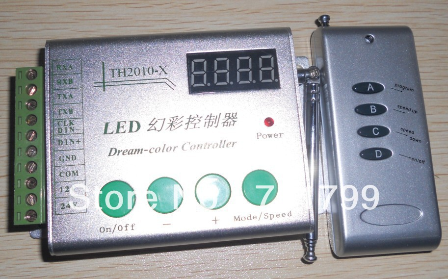 DC12V input TM1829 LED RF pixel controller,max control 1024 pixels;used for TM1829 pixel strip,modules,nodes(China (Mainland))