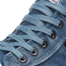 2016 new arrival breathable women casual shoes zipper lace up denim canvas shoes fashion high top