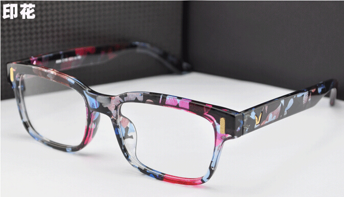NewV Shaped Box Eyeglasses Frame Brand For Women Fashion Men Optical eye glasses Frame Eyewear Oculos