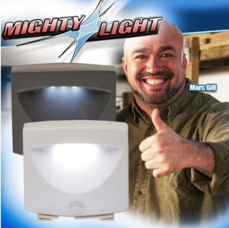 Free shipping indoor & outdoor MIGHTY LIGHT/As Seen on TV/ sense light
