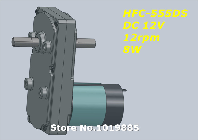 Wholesale 1pcs hfc 555ds 12v 12 rpm 8w high torque mini for High torque micro motor