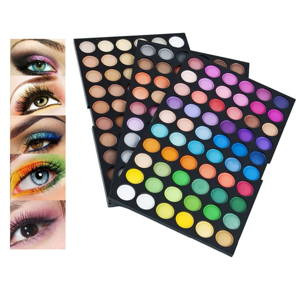 180 Colors Eyeshadow palette Mineral DIY Decor Eye Shadow Powder Makeup EyeShadow Palette Make Up Set VD364 T40(China (Mainland))